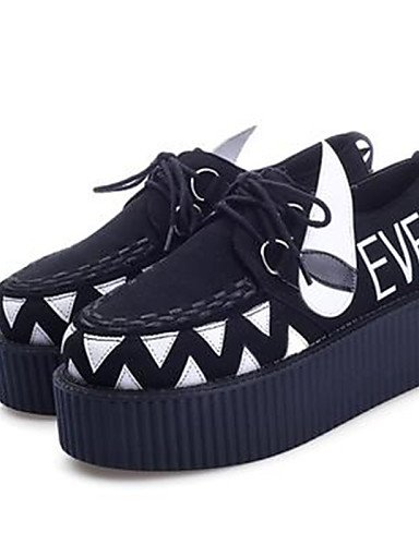 acheter populaire 22604 599d3 DBVDKJDN Chaussures Femme - Décontracté - Noir - Plateforme ...