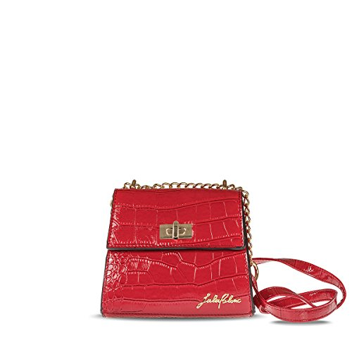 LuluBlanc Amsterdam Mini Bag Red
