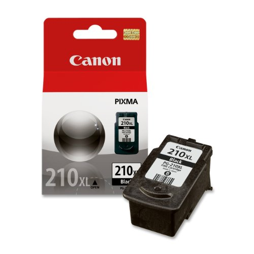 Canon PG-210XL Black Ink Cartridge Compatible to MX330, MP240, MP480, MP490, iP2702, MX340, MX350, MX320, MP250, MP270 (Ink Mp495 Canon)