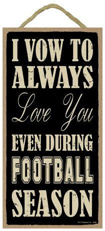 (SJT94460) I vow to always love you even during (football) season 5