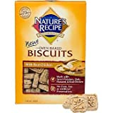 NATURE'S RECIPE 799002 Chicken 6-Pack Biscuit for Dog, 19-Ounce
