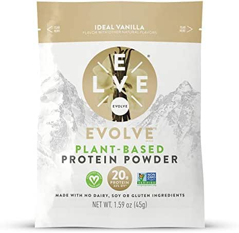 Evolve Protein Powder Packet, Ideal Vanilla, 20g Protein, 5 Count