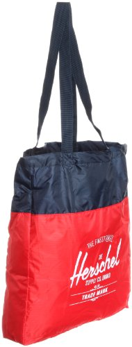 amp; Supply Canvas Red Black Beach Tote Packable Company Herschel Travel Navy Etdxqn