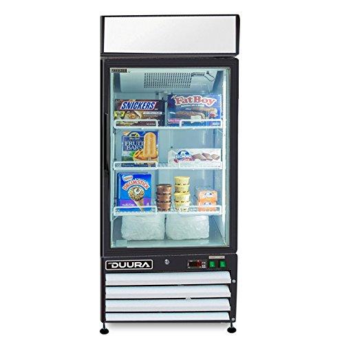 DUURA DGMW12F X-Series Glass Door Merchandiser Freezer, S...