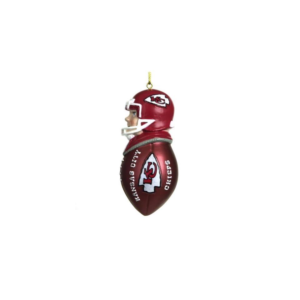 BSS   Kansas City Chiefs NFL Team Tackler Player Ornament