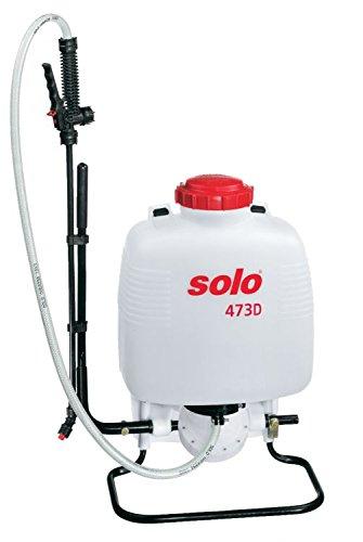 Rückenspritze SOLO 473 D Classic mit 10 Liter Behältervolumen und Membranpumpe bis max. 4bar.