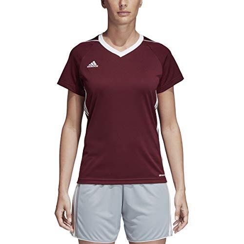 Jersey Womens Adidas Tiro - adidas Tiro 17 Jersey Women's Soccer S Maroon-White