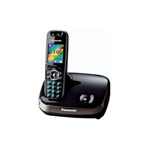 Panasonic KX-TG8511SPB - Teléfono inalámbrico digital