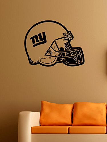 New York Giants Logo Wall Vinyl Decals American Football Logotype Helmet Game Team Vinyl Decals Vinyl Murals Stickers IL1076