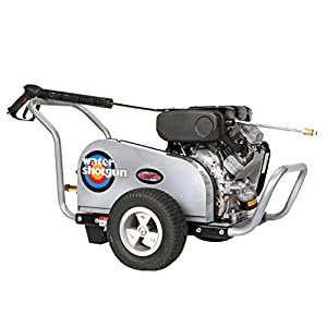 Simpson Water Shotgun Industrial Gas Powered Pressure Washer 4000 PSI 5 GPM 18 HP VTwin Vanguard Engine with Electric…