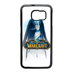 Good Quality Phone Case With HD World Of Warcraft Images On The Back , Perfectly Fit To Samsung Galaxy S6 Edge
