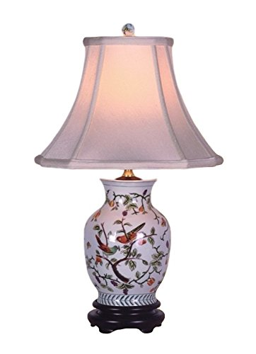 SONG BIRDS PORCELAIN VASE - Bird Place Asian