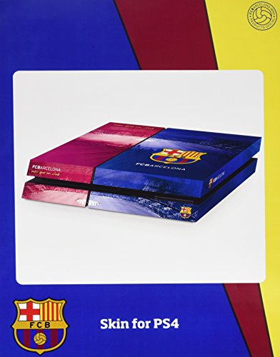Official Barcelona Fc - Playstation 4 (console) Skin / Ps4