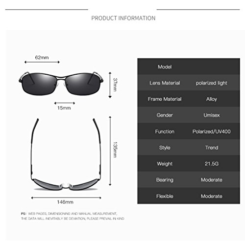 0259f78d4c Joopin-Polarized Sunglasses Men Polaroid Driving Sun Glasses Mens Sunglass