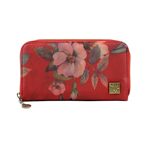 Bolso Color Floral De De Color Floral Rojo Rojo Bolso rqfBgr