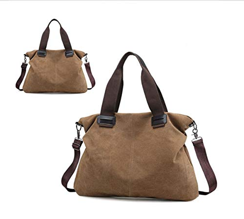 7 bag 2 Crossbody 19 15 inch canvas Color Ms Shoulder LXopr Coffee 5 backpack Bags 1 nw78tx