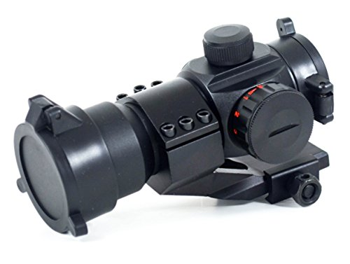 Rhino Tactical Green & Red Dot Sight for Rifles & Shotguns by Ozark Armament - Includes Picatinny Cantilever Mount