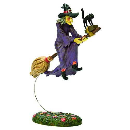 Department 56 Snow Village Halloween Witch Hollow Midnight