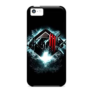 New Snap-on BHarries Skin Case Cover Compatible With Iphone 5c- Skrillex