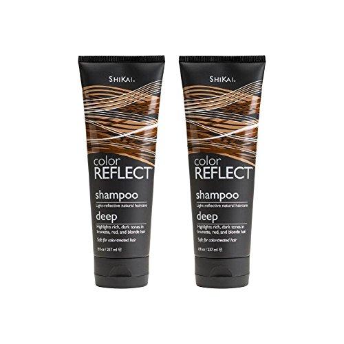 ShiKai Color Reflect Deep Shampoo 8 fl oz (237 ml) (Pack of 2)