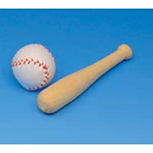 bulk buy darice diy crafts wood baseball bat On baseball bats for crafts