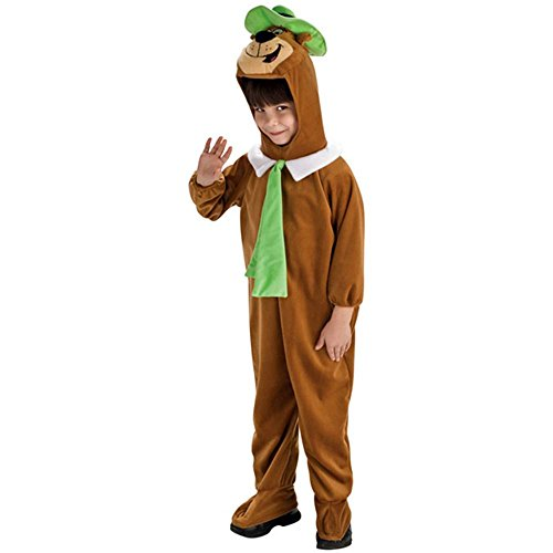Costumes Yogi Deluxe Bear Kids (Deluxe Yogi Bear Child Costume -)