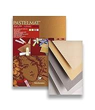 Bloc Pastelmat 4 Teintes 360g 24x30cm 12f