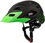 Exclusky Kids Helmets for Bike/Skate/Multi-Sports Lightweight Adjustable 50-57cm(Ages 5-13)