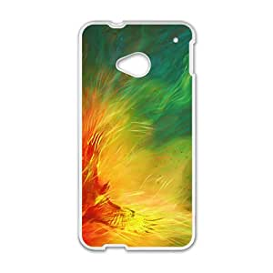 Fire Bird Custom Protective Hard Phone Cae For HTC One M7