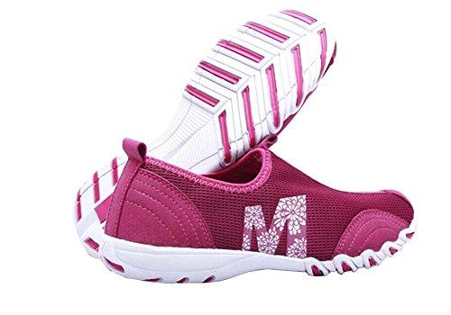 Atmungsaktive Turnschuhe für Frauen 2014 Frauen Mode Sneakers für Damen Laufschuhe Größe 35-40 Rot