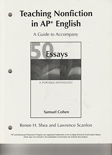 Teaching Nonfiction in AP English (A Guide to Accompany
