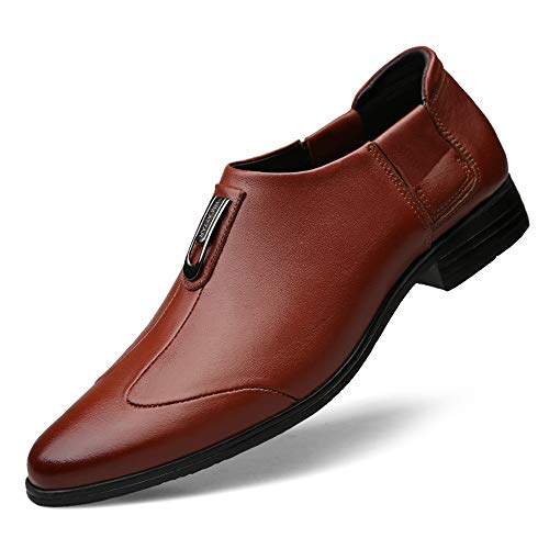 de Negocios Hombre Marrón Tip Toe Casual Oxford Color Formal Simple tamaño Shoes Tie Classic 43 EU S44qwd