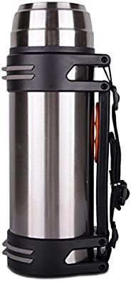 Alley.L Outdoor Portable Stainless Steel Sports Bottle - Travel Thermos Flask Double Stainless Steel Vacuum Fl