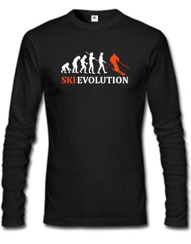 SKI EVOLUTION - in versch. Farben - HERREN - LONGSLEEVE by Jayess Gr. S bis XXXL
