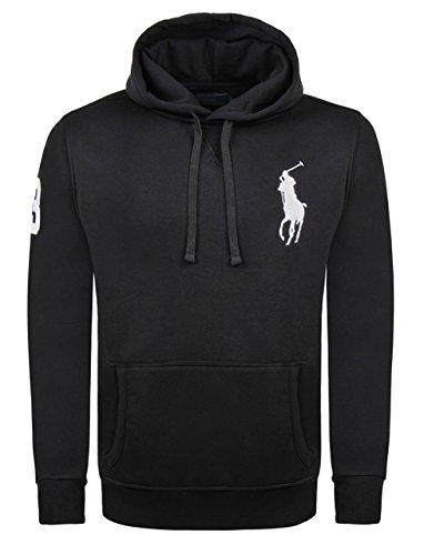 Sudadera con capucha para hombre Polo Ralph Lauren Big Pony negro ...