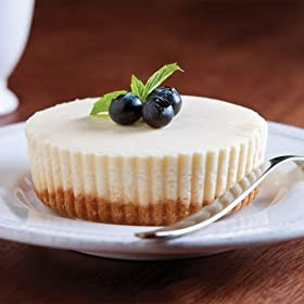 Omaha Steaks 4 (4 oz.) Individual New York Cheesecakes