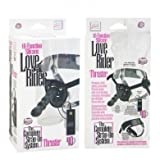 10-Function Silicone Love Rider Thruster - Black