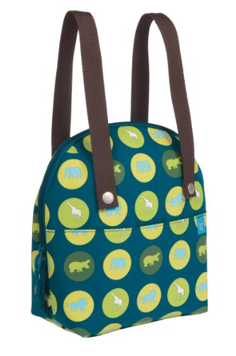 Lassig Cooler Bag, Savannah Print Petrol by Lassig