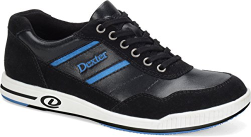 Dexter Men's David Bowling Shoes, Black/Blue, 8