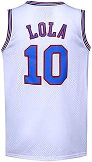 Men's Basketball Jersey #10 LOLA Space Jam Movie Sh