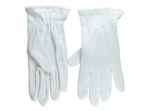 White Glove Plain - Small - The Mall Plains White