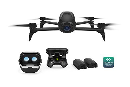 Parrot Bebop 2 Power FPV Pack - Film like a Pro with Smart Flights and up to 60 minutes of combined of flight time by Parrot
