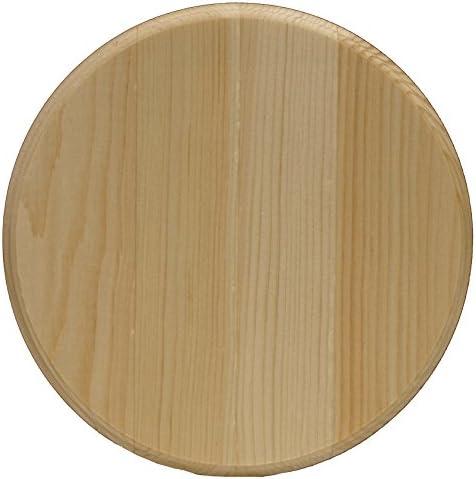 "Walnut Hollow Circle Pine Plaque-8""X8"""