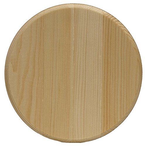 Blank Clock - Circle Pine Plaque-8