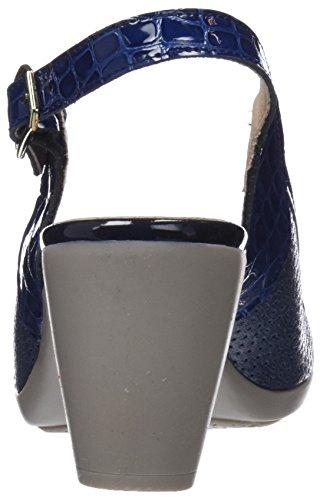 Glace Navy Bleu MOMEM 002 Femme Cheville Sandales Bride adn8qwp8