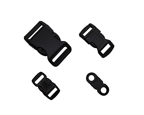 Type-III Side Release Buckles Variety Pack for Paracord Bracelet Supplies