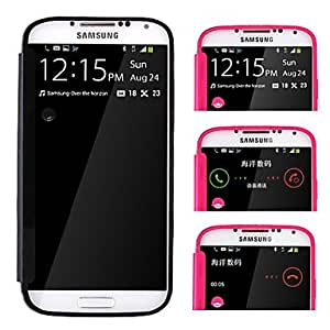 Elegant Style Full Body PU Leather Protective Case for Samsung Galaxy S4 I9500 --- COLOR:Rose