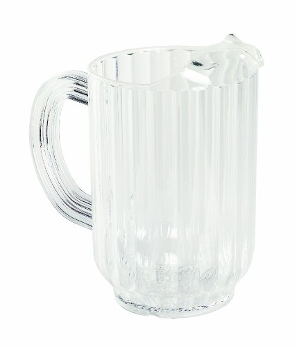 Crestware 32-Ounce Plastic Water Pitcher