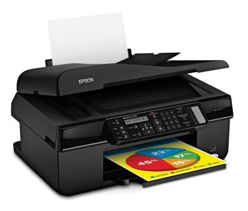 Epson WorkForce 310 Color Inkjet All-in-One Printer (C11C...