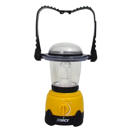 Dorcy 41-3105 Invertible Xenon LED Camping Flashlight Lantern with Hanging Hook, 50-Lumens - Inverted Led Bulb